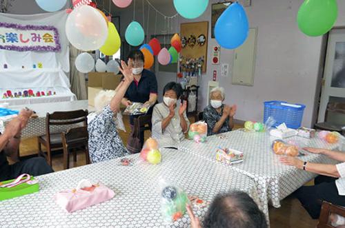 生きがいデイサービス「夏祭りお楽しみ会」